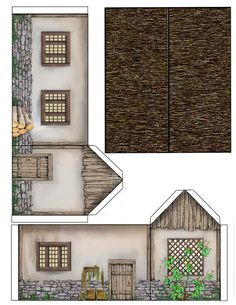 Dedhampster-paper Model Cottage-08-25-13 by DedHampster