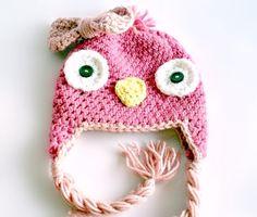 Tallulah Tweet Birdie  Hat Crochet by HoneyBearHillMN on Etsy, $18.00
