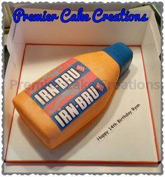 Irn Bru Bottle Cake