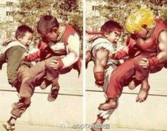 Sometime real life and Street Fighter are hard to tell apart.