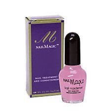 Nail Magic Nail Hardener .5 oz - If you are looking for a product that really does what it promises, try this!  It worked above and beyond my expectations!