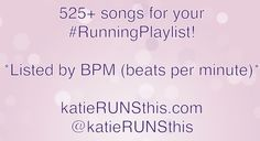 most amazing list of running music I've found so far! Lots of different genres and sorted by bpm.