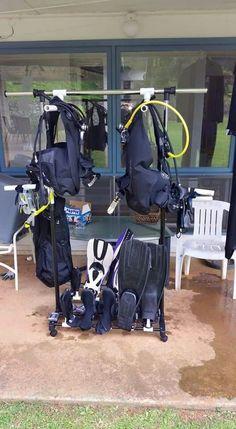 Scuba Drying rack