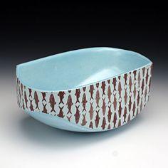 Red Lodge Clay Center   Andrew Gilliatt, Fishing Bowl (3x7.5x4.5)(50)