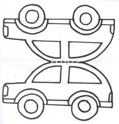 E-mail - Jenny van Losser - Rozendom - Outlook Crafts For Seniors, Paper Crafts For Kids, Arts And Crafts, Transportation Theme Preschool, Learning English For Kids, Kindergarten Art Projects, Shape Crafts, Art N Craft, Preschool Art
