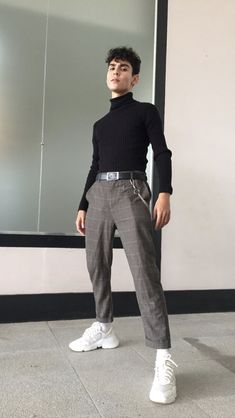 10 New Ideas For Fitness Mens Ideas Aesthetic Fashion, Aesthetic Clothes, Urban Fashion, Love Fashion, Mode Outfits, Trendy Outfits, Fashion Outfits, Fashion Shirts, Fashion Pants