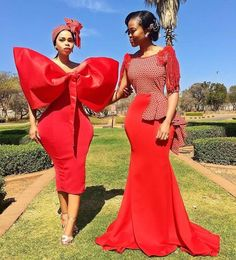 south african traditional dresses for black girls - shweshwe ShweShwe 1 African Print Dresses, African Print Fashion, African Fashion Dresses, African Dress, African Prints, African Wear, Sotho Traditional Dresses, South African Traditional Dresses, Traditional Outfits