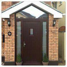 Porch by PHL Porch Extension, House Extension Plans, Extension Designs, House Extension Design, Front Door Porch, Porch Doors, House Front, Front Doors, Porch Designs Uk
