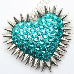 Bunny Paige Swarovski Spiked Heart Necklace Review