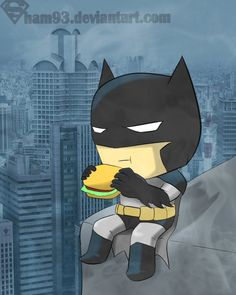 Batman chibi by *shamserg on deviantART