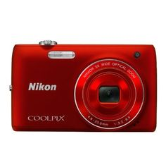 Nikon COOLPIX S4100 14 MP Digital Camera with 5x NIKKOR Wide-Angle Optical Zoom Lens and 3-Inch Touch-Panel LCD (Red) by Nikon. $79.00. From the Manufacturer                 Life moves fast. Catch it! One Touch HD Movie Recording.    Staying connected means sharing life's happiest and most poignant moments with people you care about—and HD movies do it well. The COOLPIX S4100 is the full-featured camera you'll want for shooting high quality HD 720p movies. With One-Touch r...