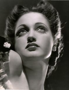 """Dorothy Lamour (1914-1996).  American actress and singer. She is best remembered for appearing in the """"Road to..."""" movies, a series of successful comedies starring Bing Crosby and Bob Hope."""