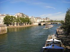 River Seine boat cruise. One of my best memories ever.