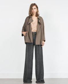 Image 1 of HAND MADE COAT from Zara