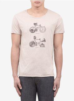"""Scotch"" bicycle print tee"