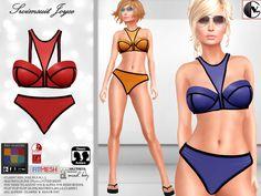 Second Life, Women Swimsuits, Bikinis, Swimwear, Swimming, Female, Summer, Fashion, Bathing Suits