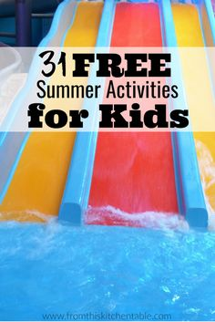 31 free summer bucket list ideas for kids! Make some memories with these fun (an… 31 free summer bucket list ideas for kids! Make some memories with these fun (and easy) summer activities. Summer Fun For Kids, Summer Fun List, Free Summer, Summer Activities For Kids, Summer Bucket Lists, Fun Activities, Outdoor Activities, Frugal Living, Saving Ideas