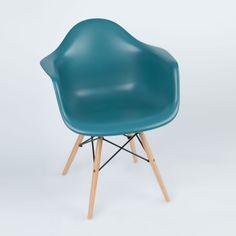 Montmartre Arm Chair in Teal   dotandbo.com