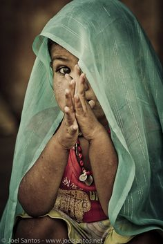 India | A child in Jaipur. | ©Joel Santos