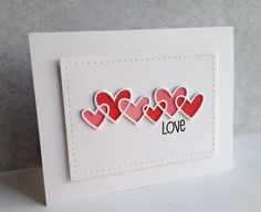 LOVE...Simply done with Paint Chips and Washi Tape!   I'm in Haven   Bloglovin'