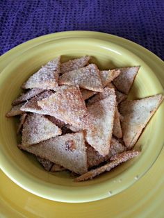 Easy Churro Chips