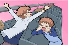 Hikaru and Kaoru Hitachiin- ouran high school host club - omg these guys are so funny I love this episode