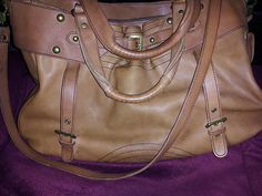♥BCBGirls XLarge Leather Messenger- Used once- Excellent condition- ♥