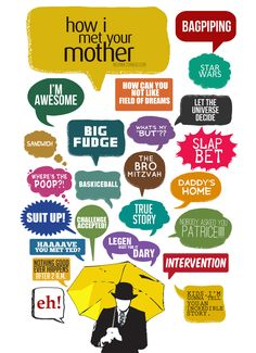 how i met your mother wallpaper umbrella - Pesquisa Google