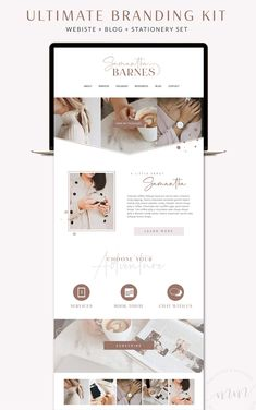website design inspo for entrepreneurs & creative businesses Web Design Blog, Design Sites, Best Website Design, Design Food, Logo Design, Website Design Layout, Design Poster, Best Web Design, Web Layout