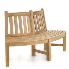 6 ft Teak Tree Bench Section | Westminster Teak Teak Outdoor Furniture, Lounge Furniture, Furniture Design, Westminster Teak, Planter Bench, Tree Bench, Bench Set, Teak Table, Modern Lounge