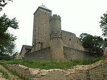 Starkenburg Castle near Heppenheim, Germany