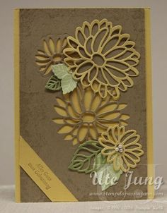 """Birthday Card """"Special Greetings"""" In Jever - with Ute Jung Bloglovin '"""