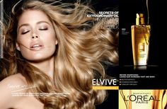 Dutch stunner Doutzen Kroes shines like a ray of sun for Elvive 'Extraordinary Oil' by L'Oréal Paris