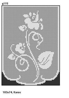 Crochet Curtain Pattern, Crochet Curtains, Curtain Patterns, Doily Patterns, Crochet Doilies, Crochet Flowers, Crochet Lace, Cross Stitch Patterns, Crochet Patterns