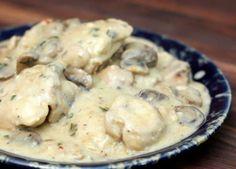 poulet champignon boursin cookeo, une recette délicieuse pour votre plat de déjeuner ou de dîner. facile et rapide à realiser chez vous avec votre cookeo