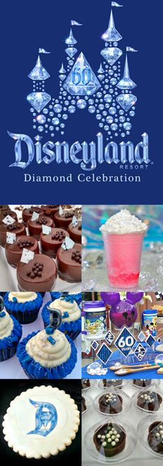 It wouldn't be a Diamond Celebration without some dazzling treats! #Disneyland60