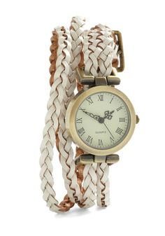 Fancy - Whitewash Away the Hours Watch | Mod Retro Vintage Watches | ModCloth.com