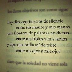 ... silencios