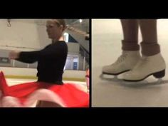 How to Perform Basic Figure Skating Spins - YouTube