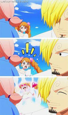 Charlotte Pudding Purin x Sanji Vinsmoke One Piece One Piece Anime, Sanji One Piece, One Piece 1, One Piece Ship, One Piece Comic, One Piece Fanart, One Piece Pictures, One Piece Images, Otaku Anime