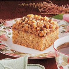 Microwave Oatmeal Cake Recipe - This cake has a yummy topping. I keep my eye out for good microwave recipes like this delicious cake.—Ruby Williams, Bogalusa, Louisiana