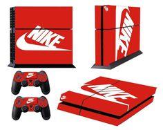 [PS4] ShoeBox #2 Nike Logo Shoe Box Whole Body VINYL SKIN STICKER DECAL COVER...
