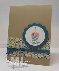 Patterned Occasions stamp set, Sycamore Street Designer Paper & Ribbon; all from the Stampin' Up! sale-a-bration special