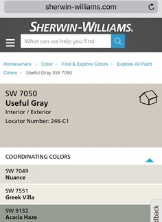 Useful Gray By Sherwin Williams For Open Concept Living Room Kitchen