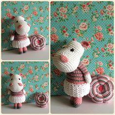 Amigurumi Girly baby Hippo Made by Kriziwizi@hotmail.com…