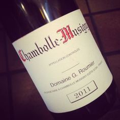 Domaine G. Roumier Chambolle-Musigny 2011