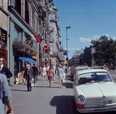Oslo, Norway, Street View, Pictures