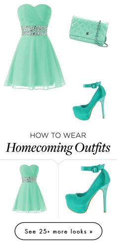 """""""Mint"""" by averybug02 on Polyvore featuring Chanel"""
