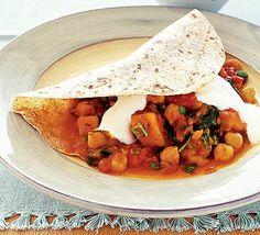 Spicy veg chapatti wrap - yum