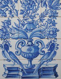 motivo tradicional de azulejo